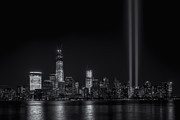 Clarence Holmes Photos - Tribute in Light X by Clarence Holmes