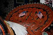 Hand Crafted Art - Tribute Saddle Seat by Susan Herber