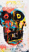 Robert Daniels Art - tribute To Basquiat by Robert Daniels