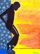 Michael Jackson Art - Tribute to Michael Jackson by Daniela Antar Power