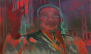 Martin Luther King Digital Art - Tribute to the King by Christopher Adkins