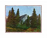 National Parks Paintings - Tribute to the Tribute by Robert Boyette