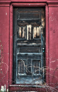 Old Doors Metal Prints - Trick or Treat Metal Print by Ross Powell