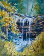 Donna Pierce-clark Art - Trickles from Heaven II by Donna Pierce-Clark