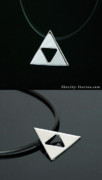 Video Jewelry - Triforce Pendant by Nicholas Damario