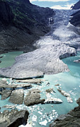 Berner Photos - Triftgletscher Glacier, Switzerland, 2002 by Dr Juerg Alean