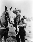 Cowboy Hat Photos - Trigger, Roy Rogers, Ca. 1940s by Everett