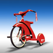 Tricycle Prints - Trike Print by Mike McGlothlen