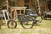 Brimfield Framed Prints - Trike Framed Print by Paula Deutz