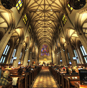 Religious Art Photos - Trinity Church NYC by Yhun Suarez
