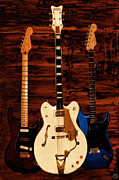 Fender Photos - Trio by Lourry Legarde