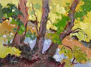 Creek Paintings - Trio by Susan F Greaves
