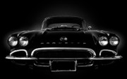 Classic Automobile Prints - Triple Black Print by Kurt Golgart