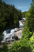 Grand Memories Posters - Triple Falls in Dupont State Forest Poster by John Haldane