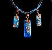 Swarovski Crystals Jewelry - Triple Ocean Jasper by Jan  Brieger-Scranton