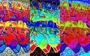 Tagging Digital Art - Triple Threat by Randall Weidner