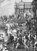 Flavius Prints - Triumph Of Titus, 70 Ad Print by Photo Researchers