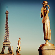 National Landmark Prints - Trocadero, Paris Print by Image - Natasha Maiolo