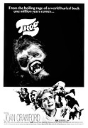 Terrified Prints - Trog, Joe Cornelius, Joan Crawford, 1970 Print by Everett