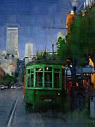 Robert Bissett - Trolley at Night