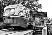 Germantown Photo Framed Prints - Trolley Car Diner - Philadelphia Framed Print by Bill Cannon