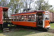 Fort Smith Arkansas Prints - Trolley Print by Nina Fosdick