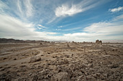 California Earthquake Prints - Trona Pinnacles Print by Lee Chon