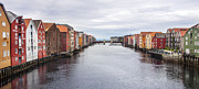 Y120817 Art - Trondheim Warehouses - Norway by Thierry Dosogne