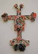 Cross Sculptures - Trophies by Ruth Edward Anderson