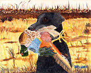 Puppies Originals - Trophy Bird by Terry Lewey