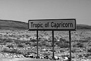 Solstice Framed Prints - Tropic of Capricorn Framed Print by Aidan Moran