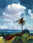Tropic Paintings - Tropical Afternoon by Donald Maier