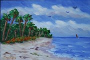 Rincon Beach Originals - Tropical Beach by Bob Phillips