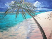 Daydream Art - Tropical Beach by Judy Via-Wolff