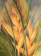 Vibrant Pastels Originals - Tropical Beauties by Shera Summer