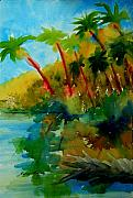 Julianne Felton Art - Tropical Canal by Julianne Felton
