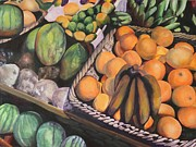 Fruit Stand Paintings - Tropical Confections I by Terri Thompson