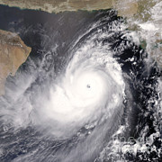 Oman Prints - Tropical Cyclone Gonu Print by Science Source