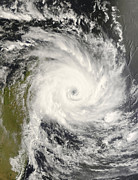 Disasters Natural Prints - Tropical Cyclone Ivan Over Madagascar Print by Stocktrek Images