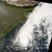 Tropical Storm Prints - Tropical Cyclone Sidr Print by Nasa