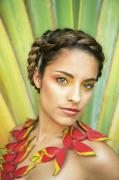 Braid Photos - Tropical Floral Fashion by Brandon Tabiolo - Printscapes