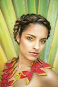Tropical Floral Fashion Print by Brandon Tabiolo - Printscapes