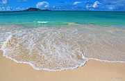 Tropical Hawaiian Shore Print by Kerri Ligatich