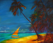 Gregory Allen Page Art - Tropical Islands by Gregory Allen Page