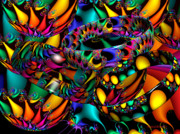 Warm Digital Art - Tropical Nights by Robert Orinski