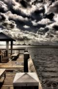 Photography Digital Art - Tropical Pier by Gulf Island Photography and Images
