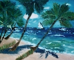 Knight Originals - Tropical Seascape by Michael Knight