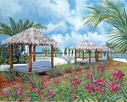 Private Originals - Tropical Shelter by Danielle  Perry