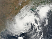 Natural Disasters Art - Tropical Storm Bijli Draped The East by Stocktrek Images