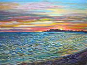 Tropical Sunset Originals - Tropical Sunset by Anna  Duyunova